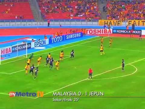 Malaysia vs Jepun 22 Feb 2012