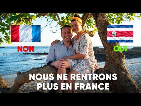 Nous ne rentrons plus en France 🇫🇷