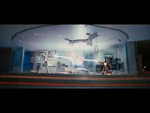 Ironman Vs Warmachine Epic Fight Scene.