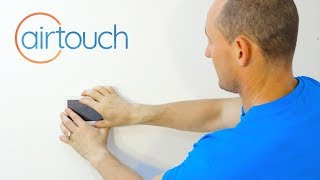 Mounting The AirTouch Panel to a Wall