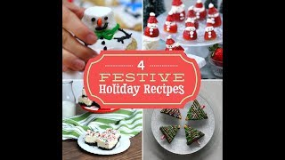 4 Festive Holiday Dessert Recipes Your Family Will Love