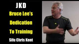 Bruce Lee's Dedication to Training