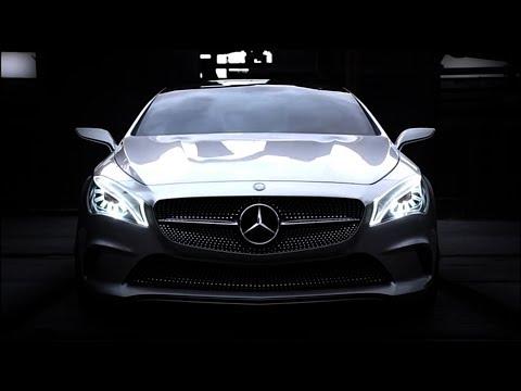 Mercedes_benz Cls Class Coupe Седан класса E - рекламное видео 2