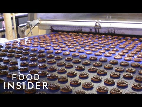How British Jaffa Cakes are Made