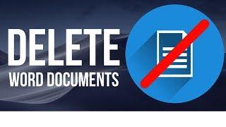 How to Delete Word Documents on Mac | MacBook , iMac, Mac Pro, Mac mini