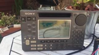 Sony ICF-SW77 Versus ICF-SW55: BBC Relay 7330 KHz, Nakhon Sawan,Thailand