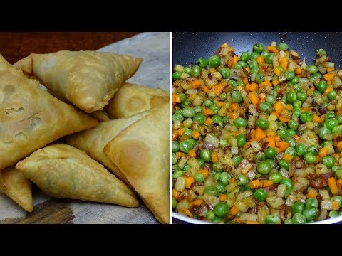 Download Vegetable Samosa Filling HD Mp4 3GP Video and MP3