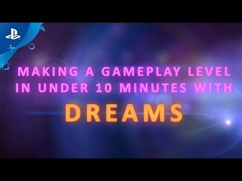 Dreams - Creating a Level in under 10 minutes de Dreams