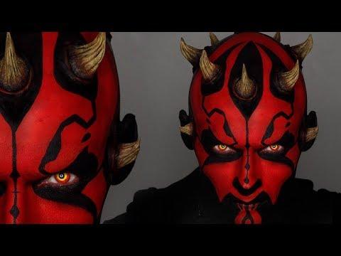 Darth Maul Halloween Makeup Tutorial   Star Wars Cosplay   Shonagh Scott