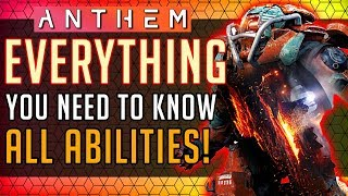 Anthem | Colossus: Everything You NEED to Know! All Abilities In-depth Look! #Anthem