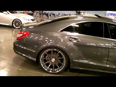 www.DUBSandTIRES.com Mercedes CLS 550 Review 22'' Strasse Forged Luxury Custom Wheels