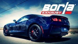 Video: Borla Sportauspuff Produktvideo der Corvette C7 mit serienmässigem NPP