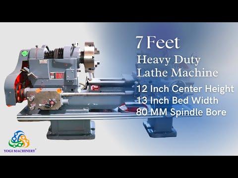 7 Feet Heavy Duty Lathe Machine