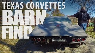 BARN FIND: East Texas Corvettes