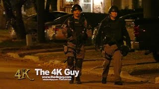 Toronto: Heavily armed ETF cops attending shooting 11-17-2015