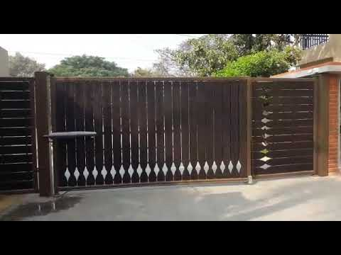 Remote Operated Swing Gate