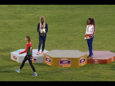 Mistrzyni Europy schodzi z podium, ponieważ pomylono hymn jej kraju