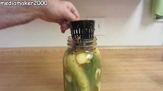 Canning Pickling Cup - Keeps Your Vegetables In The Brine
