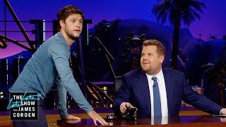 Niall Horan Is James Cordens New Water Boy