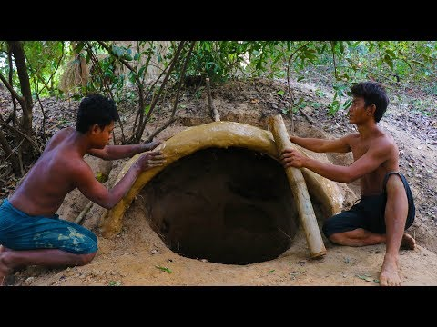 Primitive Tool : Build Underground House