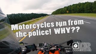 Why We Run from the Police!