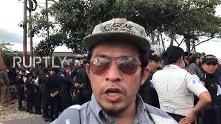 Guatemala:Policeblock1,600Honduranmigrantsatborder