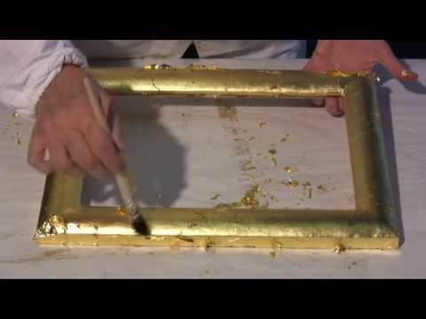 Vergolderkurs: 4 - Echtes Blattgold und -silber
