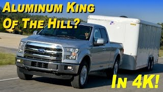 2015 / 2016 Ford F-150 3.5L Ecoboost Platinum 4x4 Pickup Truck Review - In 4K!