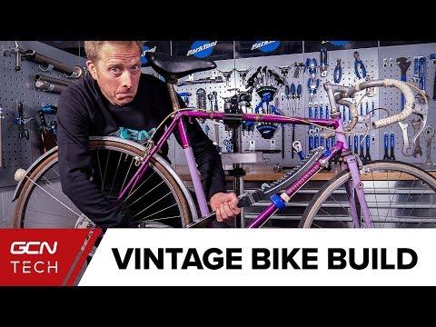 Building A Retro Replica Bike | 1920's (ish) Giro Challenge Part 1