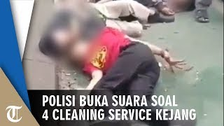 Video Viral 4 Cleaning Service Kejang-kejang seusai Minum Kopi Keliling, Polisi Buka Suara