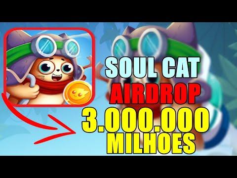 Airdrop CryptoSoul 3,000,000 MILHÕES DE TOKENS