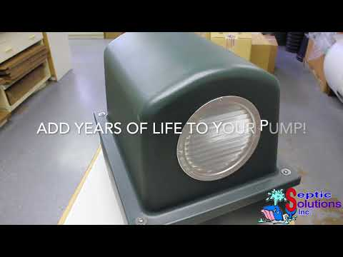 Pump Protector™ Vented Air Pump Housing and Platform in Mocha Brown Video