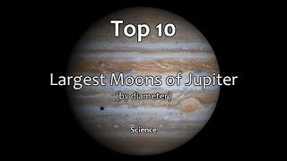 Top 10: Largest Moons of Jupiter