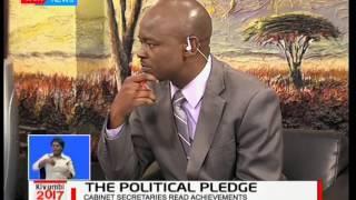Jubilee Manifesto : Amos Kimunya and Prof. Anyang' Nyong'o in studio