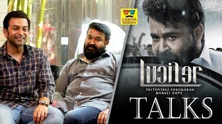Prithviraj and Mohanlal Talk About Lucifer | #LTalks | Manju Warrier | Tovino Thomas