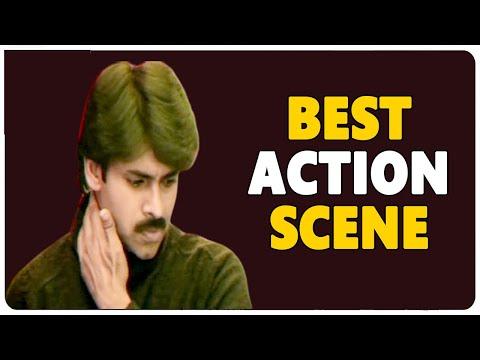 Pawan Kalyan Superb Action Scene  || Kushi Movie ||Pawan Kalyan || Bhoomika Chawla    shalimarcinema