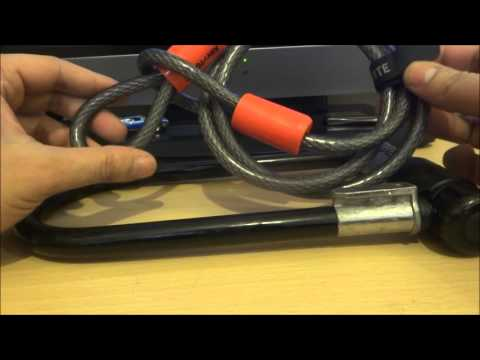 Budget Review Guy – Kryptonite Series 2 Lock & Flex cable