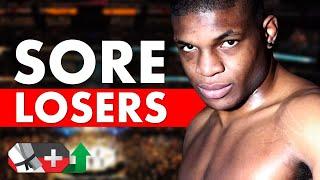 10 Sorest Losers in MMA