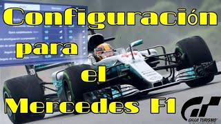 Gran Turismo Sport - Configuración para el Mercedes F1 Actualización 1.23 | Aprendiendo a pilotarlo