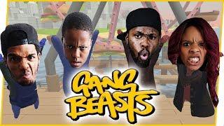 TAG TEAM MATCHUP! THE MAV3RIQ WAY!! - Gang Beasts Gameplay
