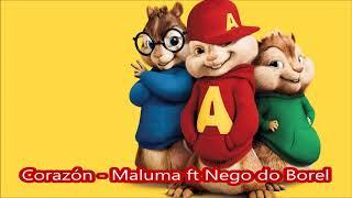 Corazón Maluma Ft Nego Do Borel - Alvin Y Las Ardillas