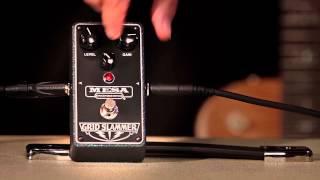 Mesa Boogie Grid Slammer Overdrive Pedal Video