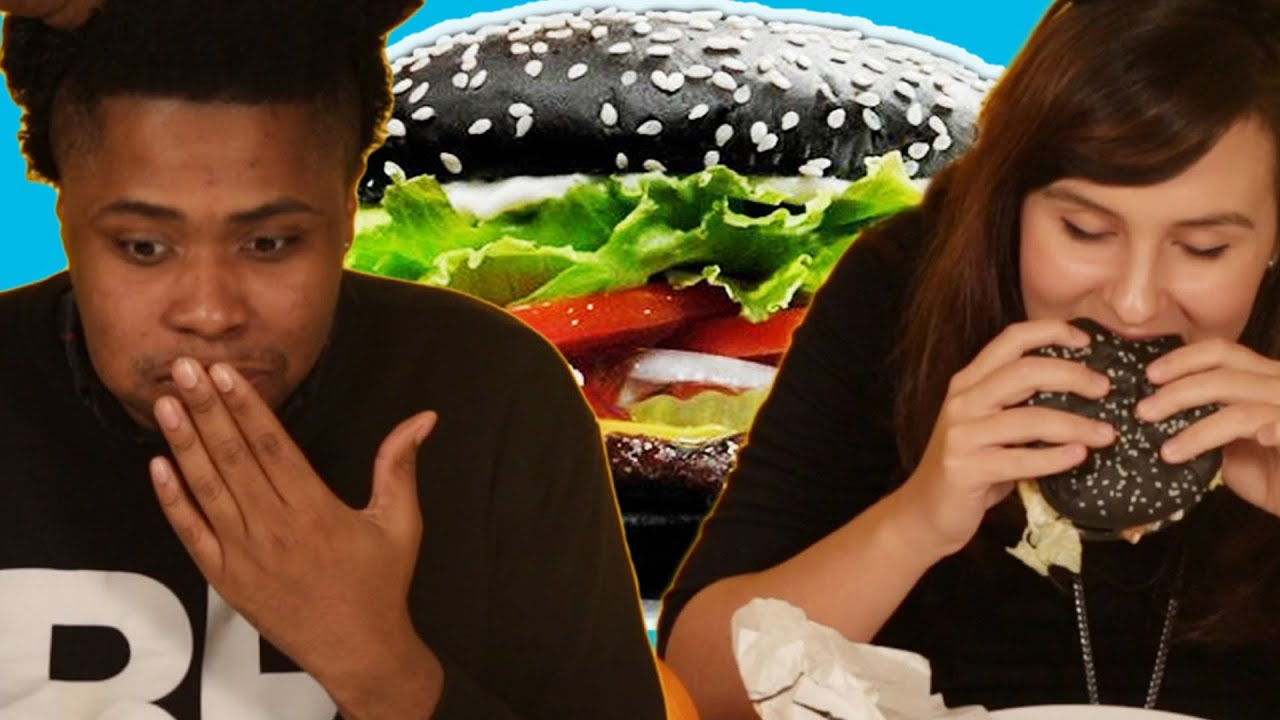 People Eat Black Whoppers (And See If They Poop Green) thumbnail