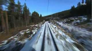 Bergen - Oslo 1/2 (Bergenbahn) : Führerstandsmitfahrt