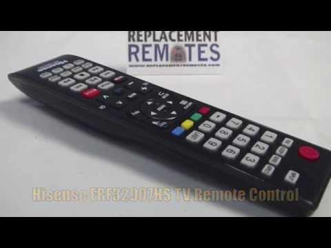 HISENSE ERF-32907HS TV Remote Control - www