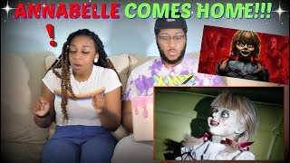 """""""ANNABELLE COMES HOME"""" Official Trailer 2 REACTION!!!"""