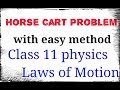 Horse Cart Problem | class 11 physics | Laws of motion