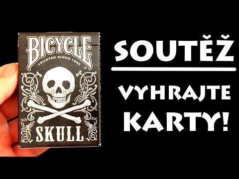 Soutěž o karty Bicycle SKULL!! | Soutěž pro všechny!