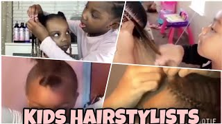 AMAZING KIDS BRAIDING HAIR//KIDS HAIRSTYLES