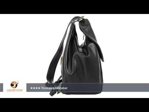 PIKÉ Damen Leder Rucksack ANNA MARIA ECHT LEDER schwarz Damen | Erfahrungsbericht/Review/Test